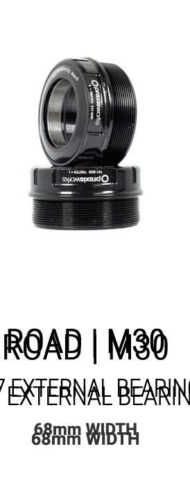 Praxis M30 Custom Bottom Bracket for InfoCrank 2